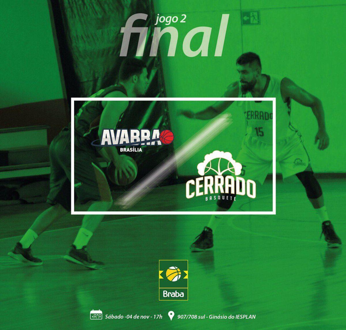 Final BRABA – Cerrado Basquete X AVABRA