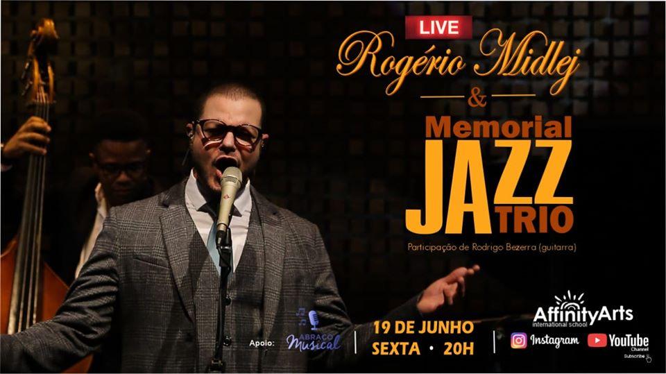 Live: Rogério Midlej e Memorial Jazz Trio (FullHD 1080p)