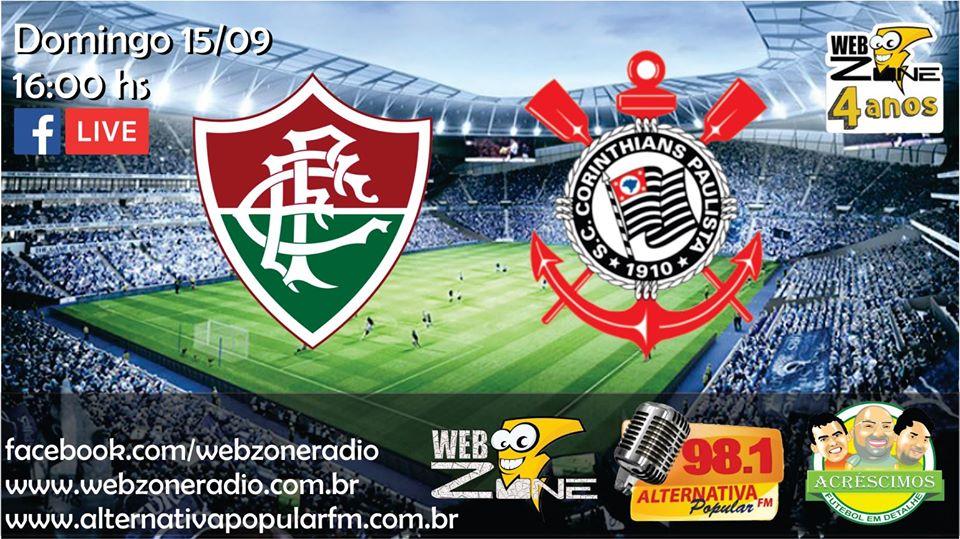 Campeonato Brasileiro 2019: Fluminense X Corinthians