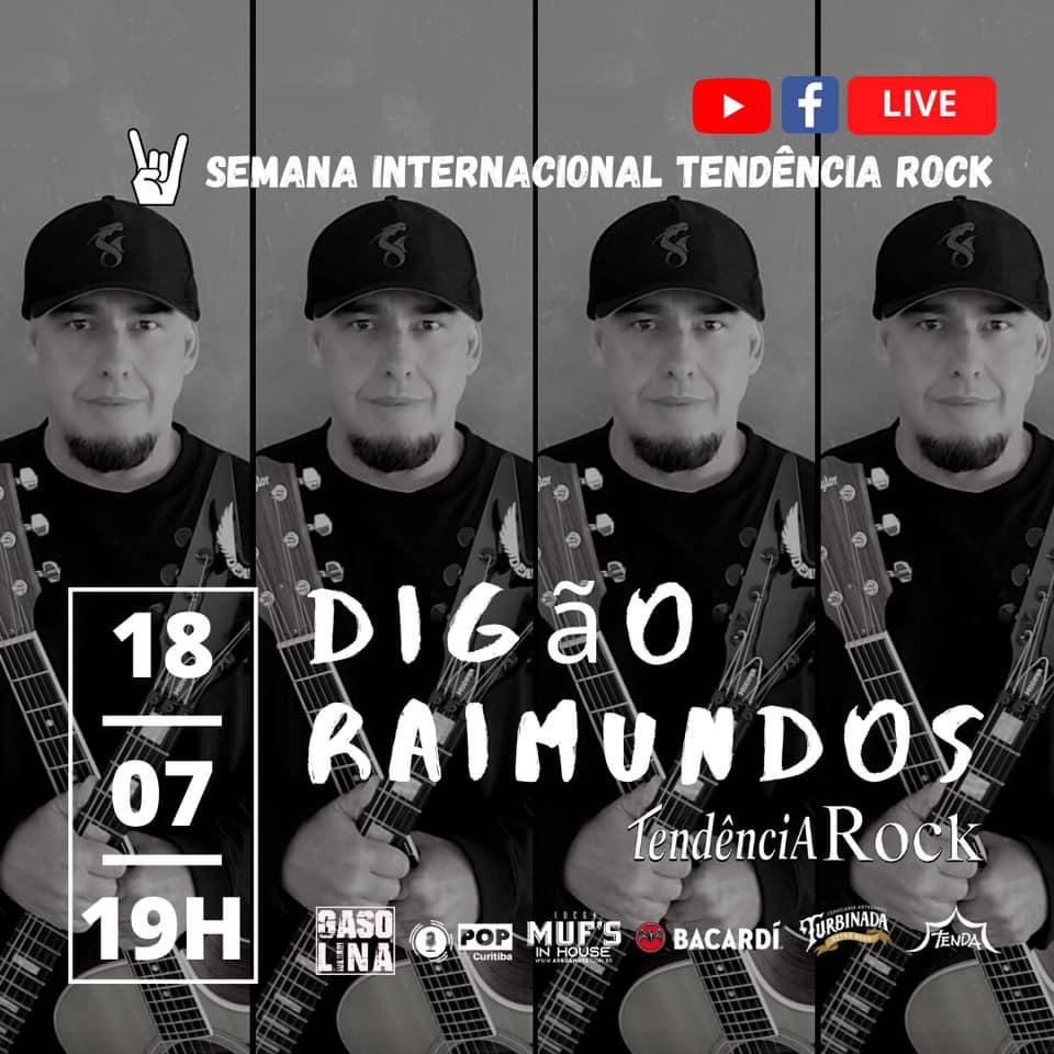 LIVE Digão Raimundos – Tendência Rock (FullHD 1080p)