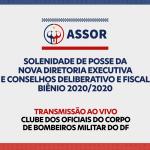 LIVE – ASSOR DF – Solenidade de Posse (FullHD 1080p)