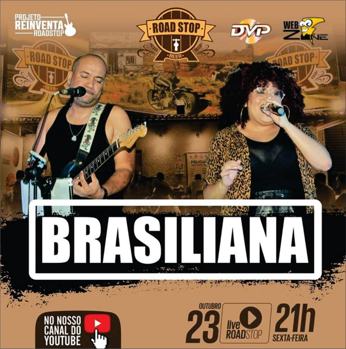LIVE Road Stop – Banda Brasiliana (FullHD 1080p)