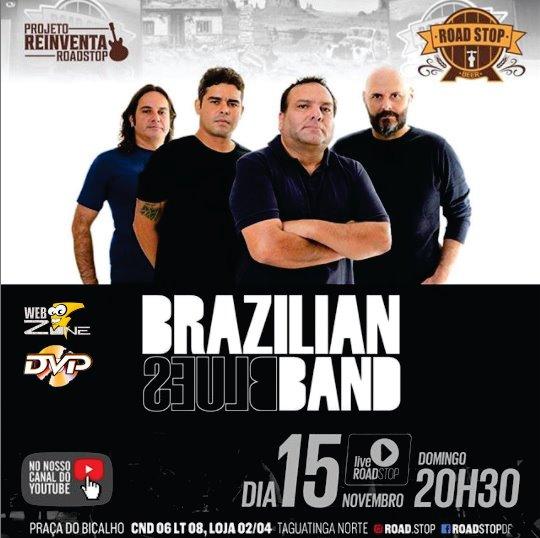 LIVE Road Stop – Brazilian Blues Band (FullHD 1080p)