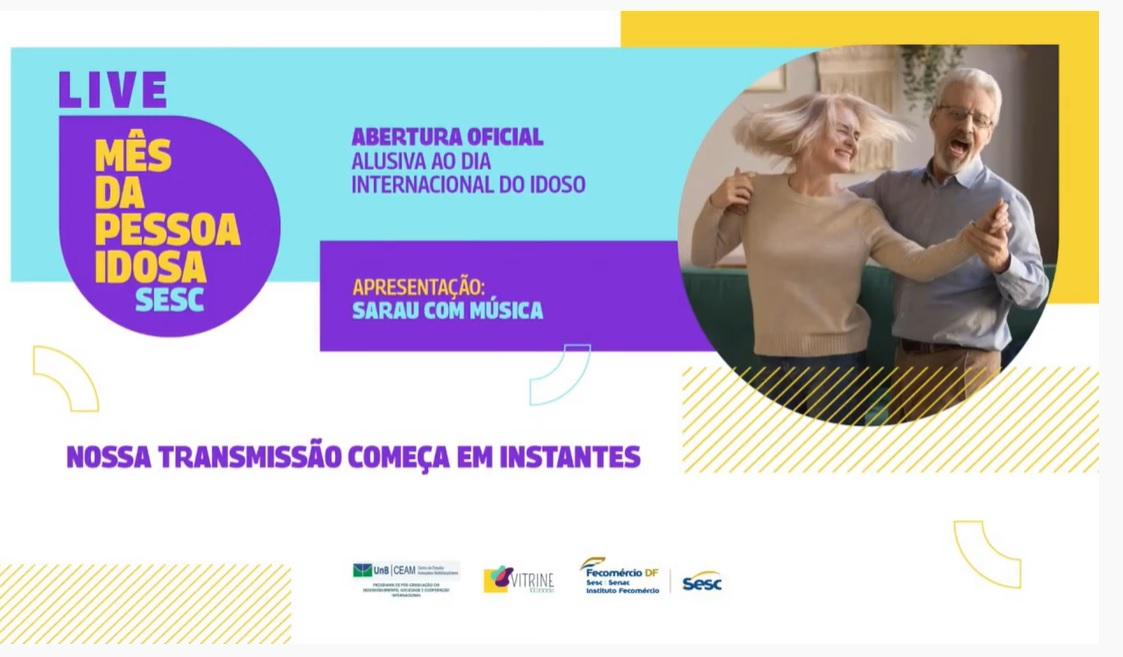 SESC Viva Cultura – Mês da Pessoa Idosa – Sarau com Musica (FullHD 1080p)