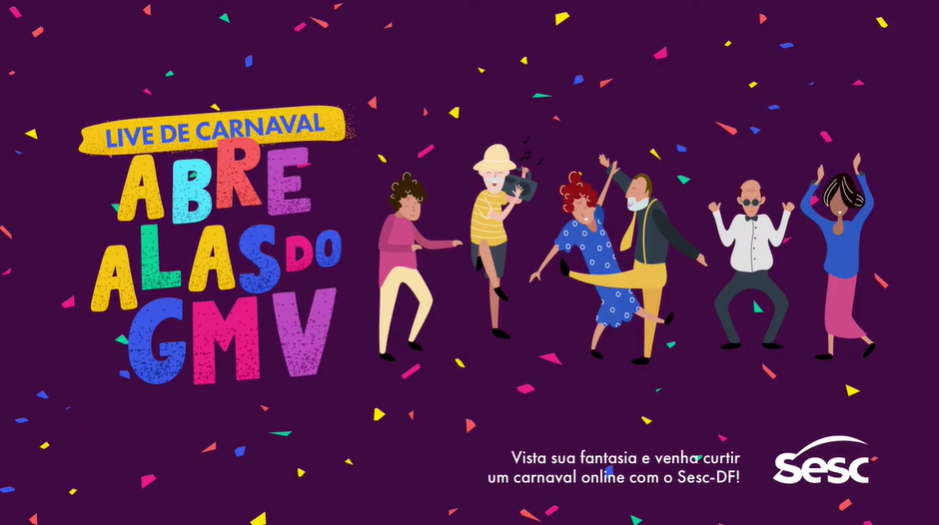 Live de Carnaval – ABRE ALAS GMV SESC (FullHD 1080p)